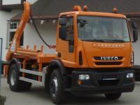 Ramenový nosič kontejneru na podvozku IVECO EUROCARGO o celkové hmotnosti 19t
