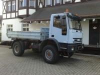Zabýváme se rovněž dovozem ojetých vozidel ze zahraničí od prověřených IVECO partnerů. Například IVECO EUROCARGO 4x4 v provední sklápěč za velmi výhodnou cenu