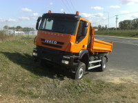 IVECO TRAKKER 190T31 - další z vozidel s konfigurací 4x4 tentokrát v provedení sklápěč